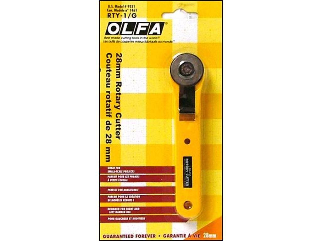 Cortador rotatorio OLFA de 28 mm