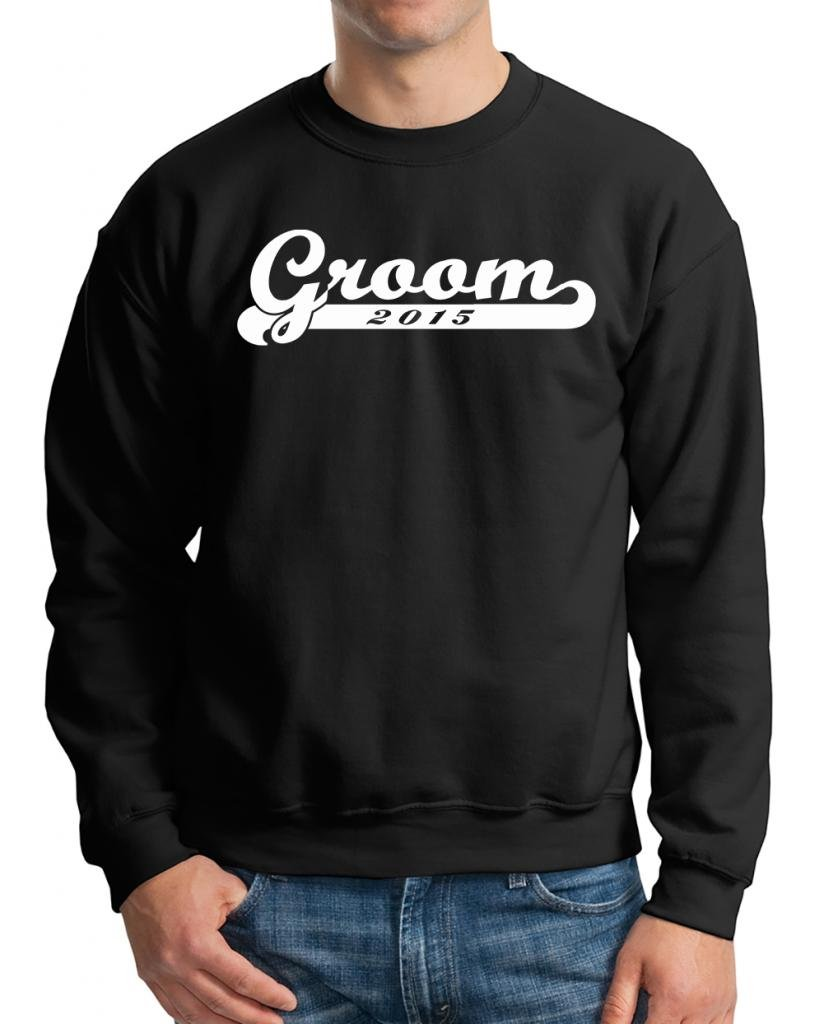 Groom 2015 Sweater Wedding Sweatshirt XXX-Large Black