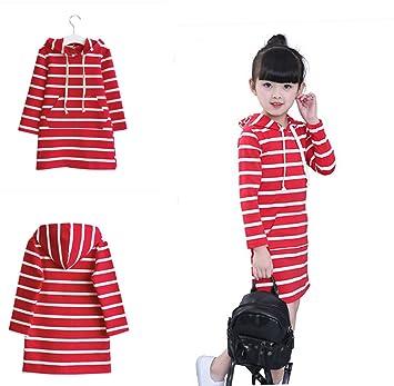 ab83d69aa60c1 赤白縞 かわいい ワンピース 子供服 女の子 幼児服 女の子 赤ちゃん服 ベビー服 丸首 長袖