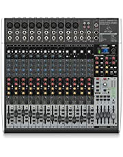Behringer Xenyx X2442USB Premium - Mezclador de 24 entradas 4/2 con interfaz USB/audio