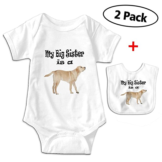 c96292cbd84 Image Unavailable. Image not available for. Color  Carmen Belinda My Big  Sister is A Yellow Lab Dog Baby ...