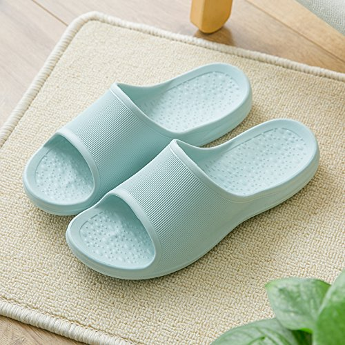 36 Bath Non Couples of Room Summer Slippers Stay The Massage Cool Living Light Female Blue Men 37 Bathroom Soft Slip Slippers for Seasons fankou Your q1xOfww