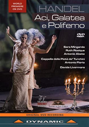 Handel: Aci, Galatea e Polifemo: Amazon.it: Ruth Rosique, Sara ...