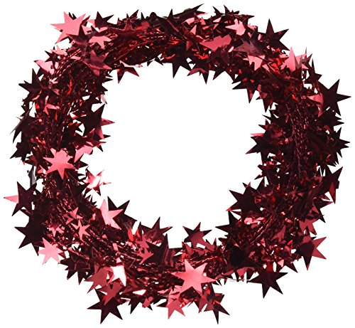 PARTY DECO Foil Star Garland, 25', ()
