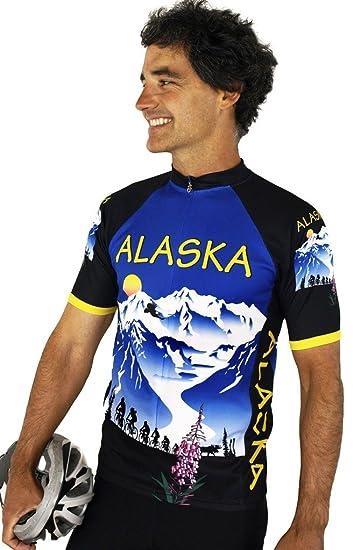 Alaska Majestic Cycling Jersey Bike Jerseys