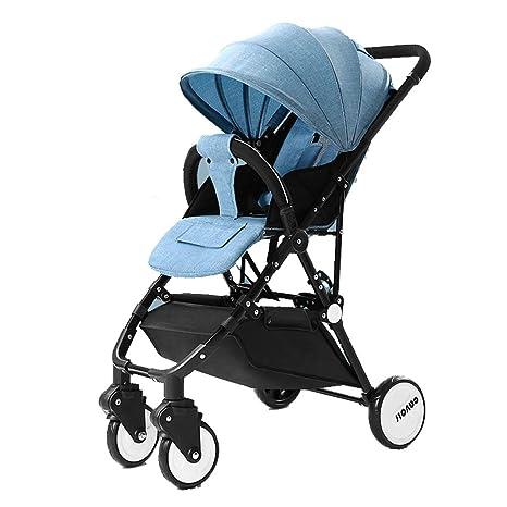 WYNZYYESTC Carro Plegable Para Bebés, Ultraligero, Portátil Para Niños De Alto Paisaje, Paraguas