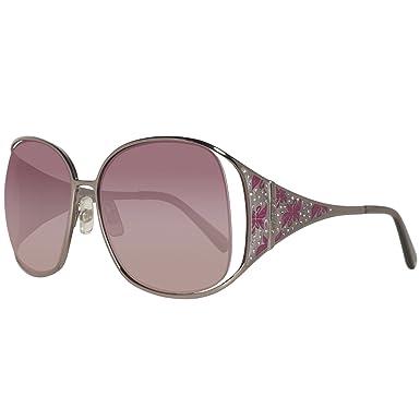 Swarovski Damen Sonnenbrille SK0016-6010Z, Pink (Shiny Light Nickeltin), 60