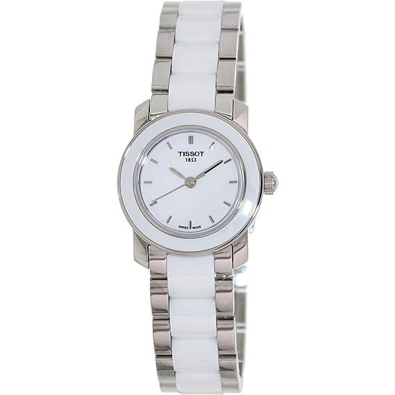 Tissot Reloj Análogo clásico para Mujer de Cuarzo con Correa en Acero Inoxidable T0642102201100: Tissot: Amazon.es: Relojes