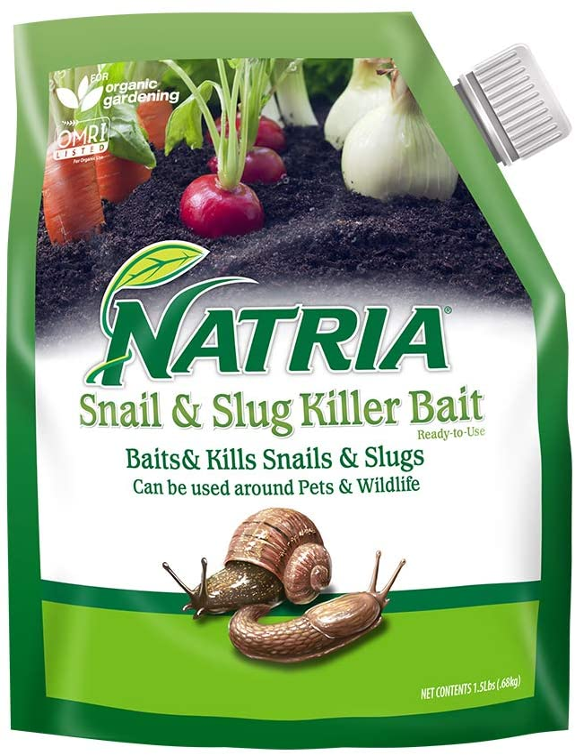 Bayer Advanced 706190A Snail and Slug Killer Bait Granules, 1.5 lb