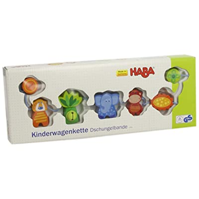 Haba Jungle Caboodle Pram Decorations : Baby Stroller Toys : Baby