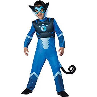 Wild Kratts Child Muscle Chest Costume Blue Martin Kratt Spider Monkey: Toys & Games