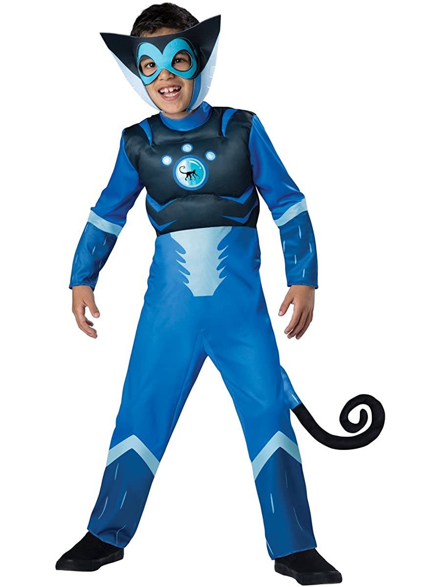 InCharacter Wild Kratts Blue Spider Monkey Boys Muscle Chest Costume