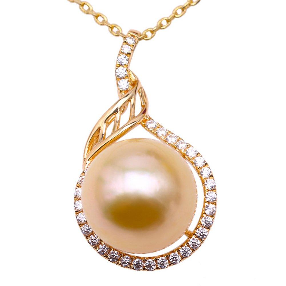 Natural 10-12mm south sea white pearl necklace bracelet set 14k 18/'/'