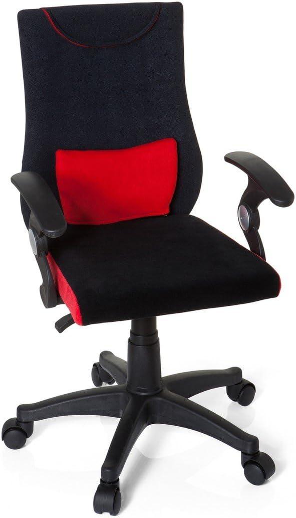 40x50x97 cm HJH Office Kiddy Pro Al 670470 Silla de oficina Ni/ño Multicolor Negro//Azul