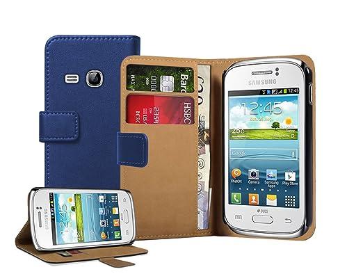 22 opinioni per Membrane- Blu Portafoglio Custodia per Samsung Galaxy Young (GT-S6310 / S6312