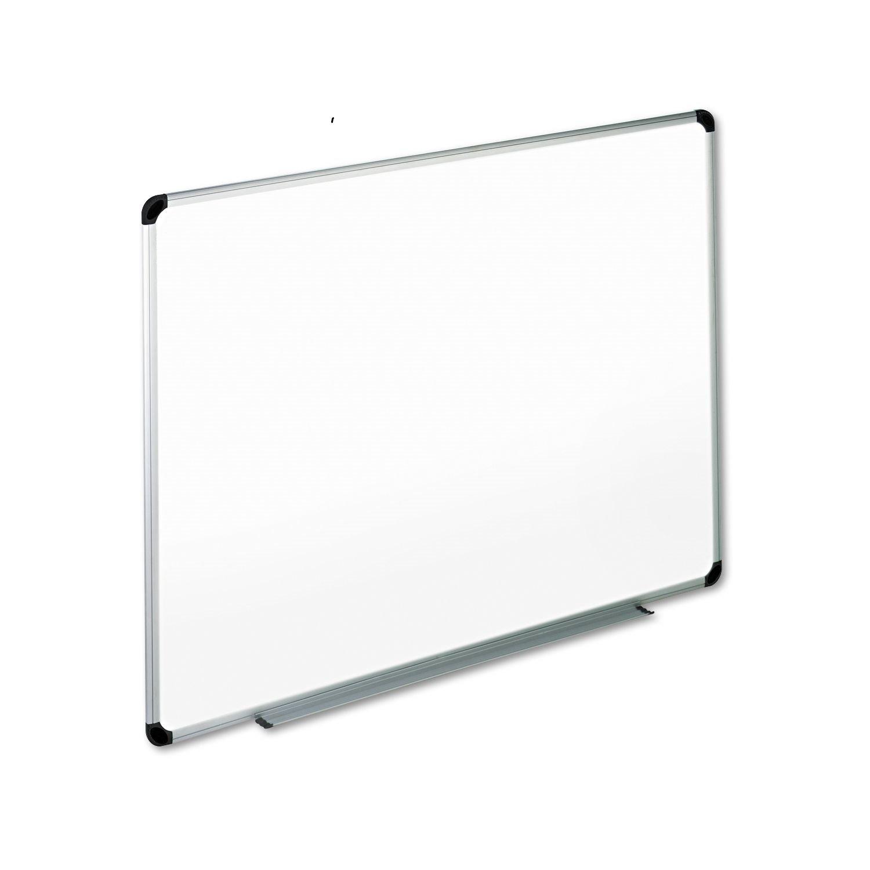 Office Impressions 36 x 48 Melamine Dry Erase Whiteboard, Aluminum Frame