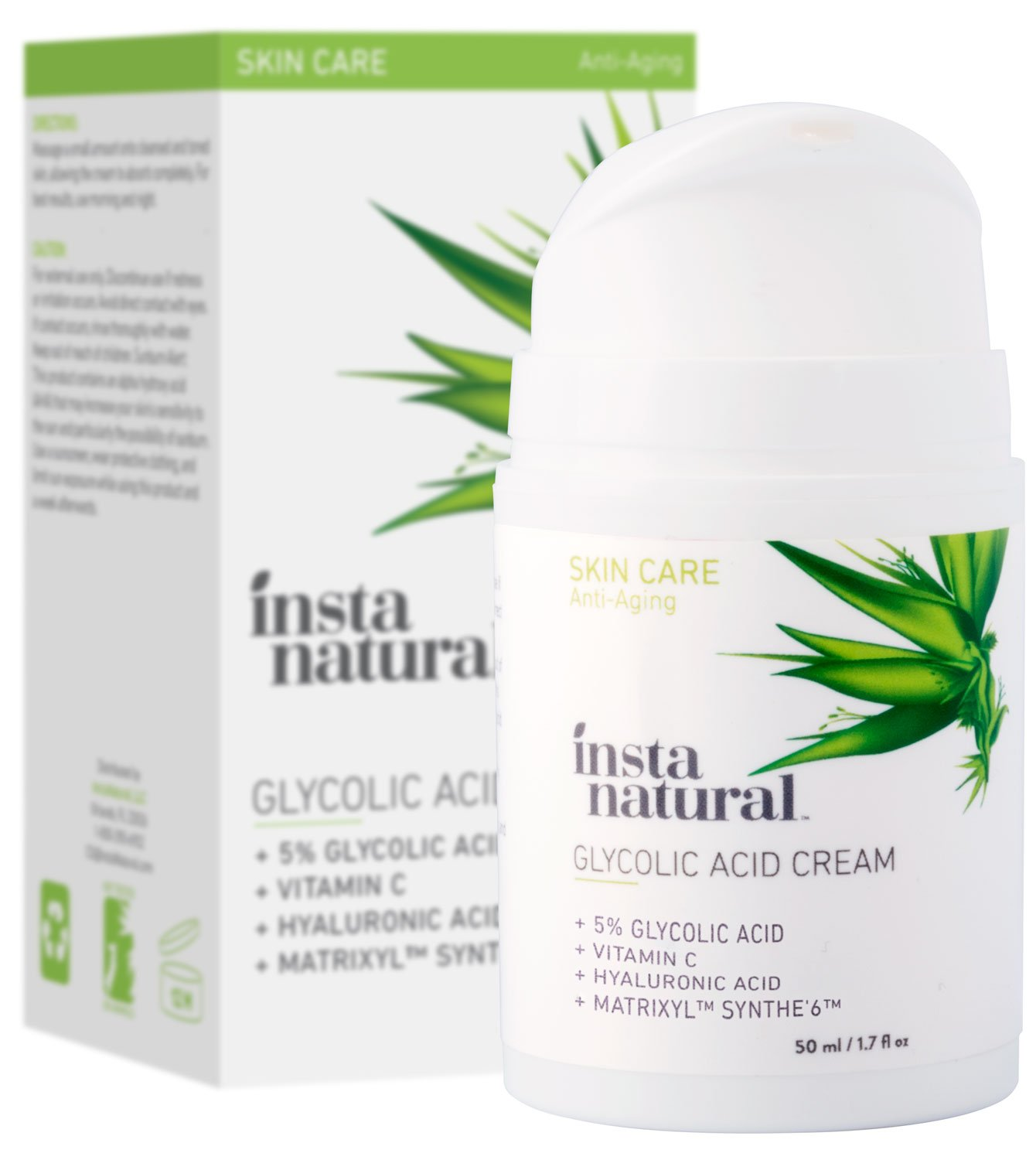 Insta Natural Glycolic Acid Cream