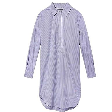 d9b3dded167 Maison Scotch Loose Tunic Summer Womens Shirt Dress at Amazon Women's  Clothing store: