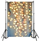 YJYdada Lover Dreamlike Glitter Haloes Photography Background Studio Props Backdrop(90cmX150cm) (C)