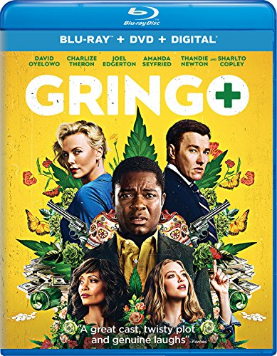 Blu-ray : Gringo (With DVD, 2 Pack, Digital Copy, 2 Disc)