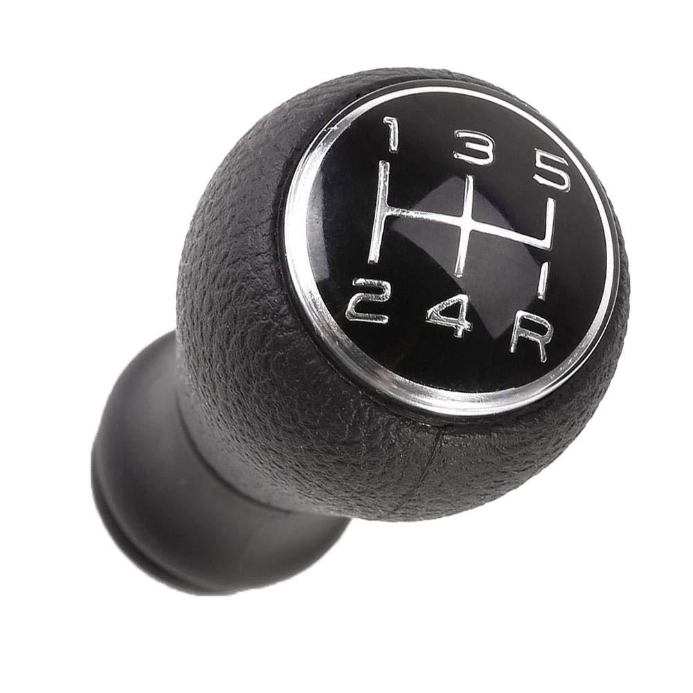 heDIANz Perilla del Cambio de Marcha del Coche de 5 velocidades para Citroen C1 C3 C4 Peugeot 106 107 206 207 306