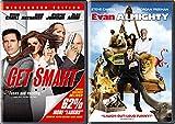 Steve Carell Set: Evan Almighty & Get Smart 2-Movie Set Bundle