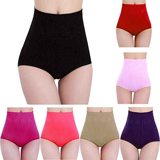 c19bd907a5f4a Compia Womens Waist Girdle Tummy Panty, Slimming Pants Womens High Waist  Tummy Control Body Shaper Briefs Workout Shorts (Black) at Amazon Women's  Clothing ...