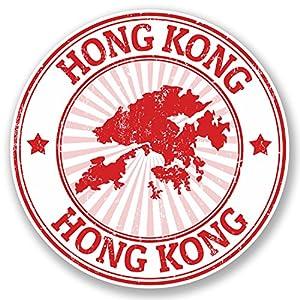 Amazoncom X Hong Kong Vinyl Stickers Everything Else - Custom vinyl stickers hong kong