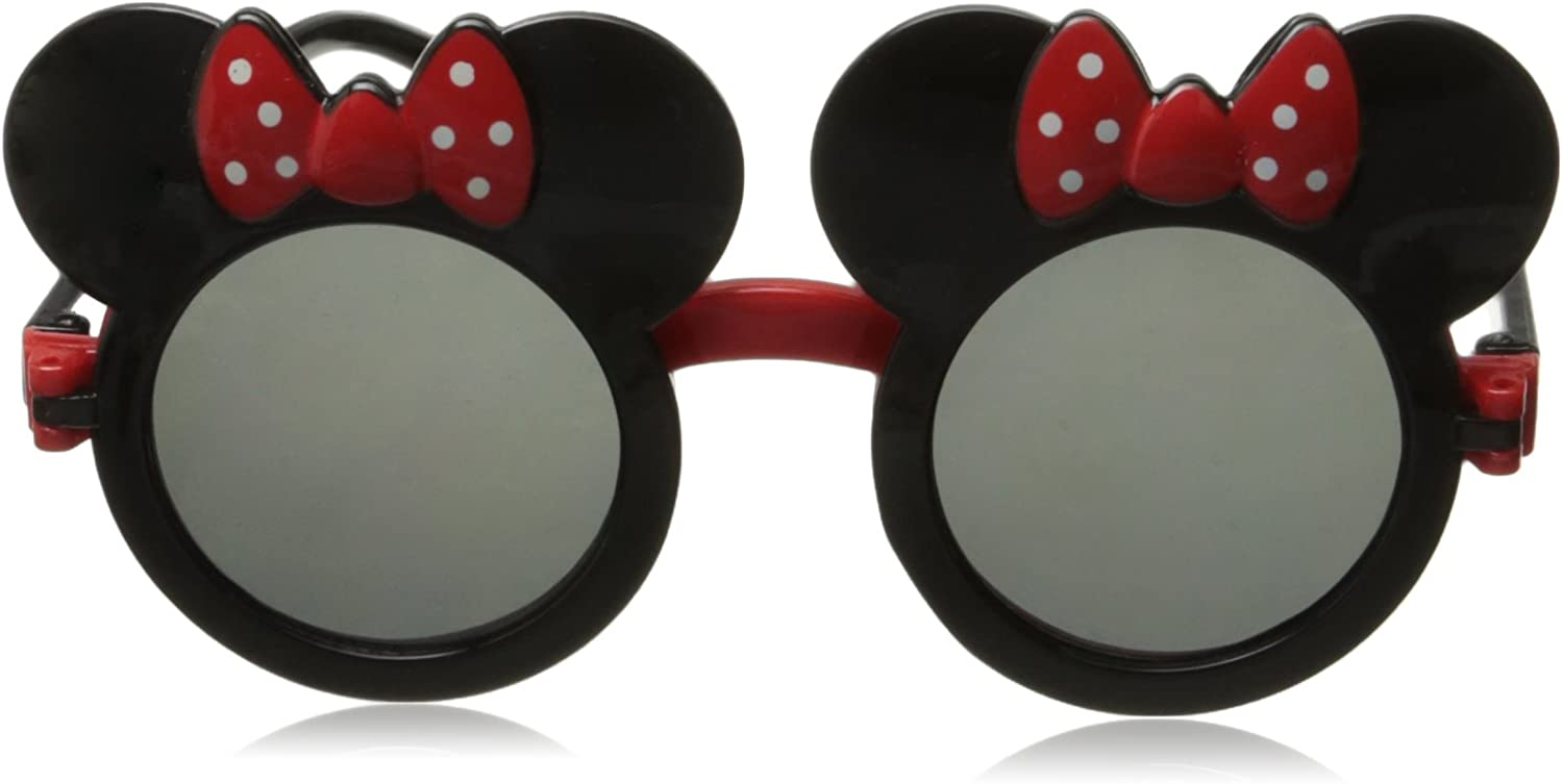 Childrens Mouse Ear Round Flip Out Sunglasses