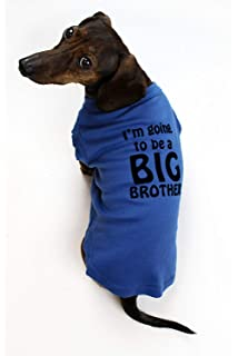 8b50a35b Amazon.com : CafePress - Im Going To Be A Big Brother - Dog T-Shirt ...