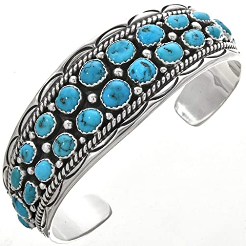 1d2ec7c2910700 Image Unavailable. Image not available for. Color: Navajo Sleeping Beauty  Turquoise ...