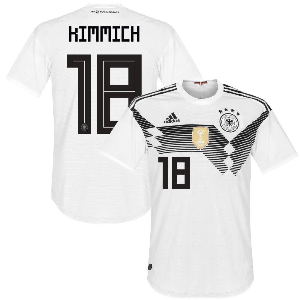 Deutschland Home Trikot 2018 2019 + Kimmich 18 - XL