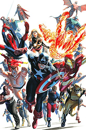 The Avengers Invaders 12 Alex Ross AP 15 30x45 Canvas Signed NEW - Ap Limited Numbered Edition