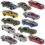 Hot Wheels (12 Pack) Chevy Camaro Diecast Car 1/64 Model Toys 50th Anniversary 1967-2013 Random Bulk