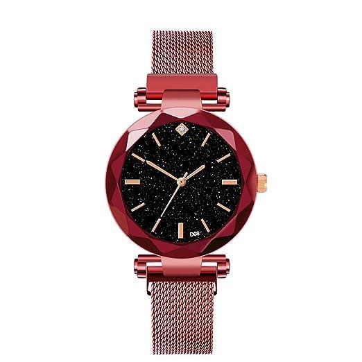 e6bc200e4713 DAYLIN Relojes de Marca de Mujer Señora Deportivos Reloj Pulsera de Cuarzo  Acero Inoxidable Relojes de Chica Modernos Sport Wrist Watch Women Girl ...