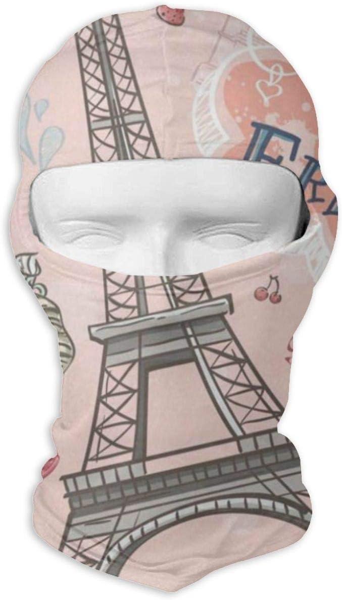 Balaclava Romantic Pink Full Face Masks Ski Motorcycle Neck Hood Cycling