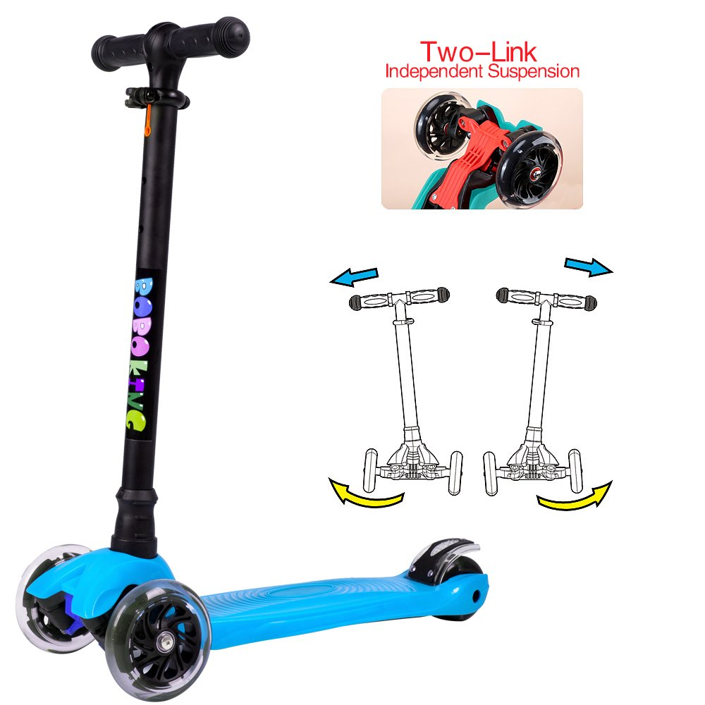 Amazon.com: BOBOKING Scooter para niños, 3 ruedas de altura ...