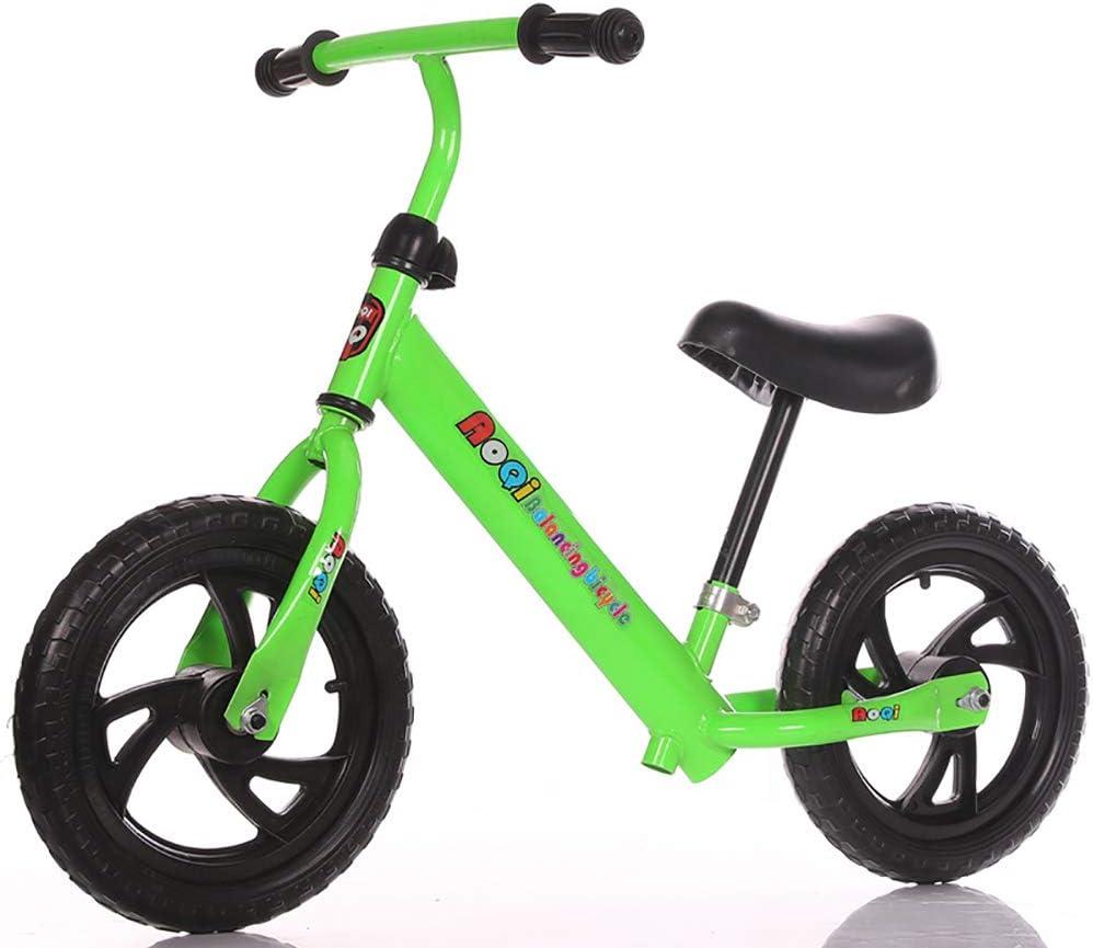 ZXDBK Bicicleta de Equilibrio, Aleación de Aluminio Carreras Versátiles, Asiento Ajustable 12