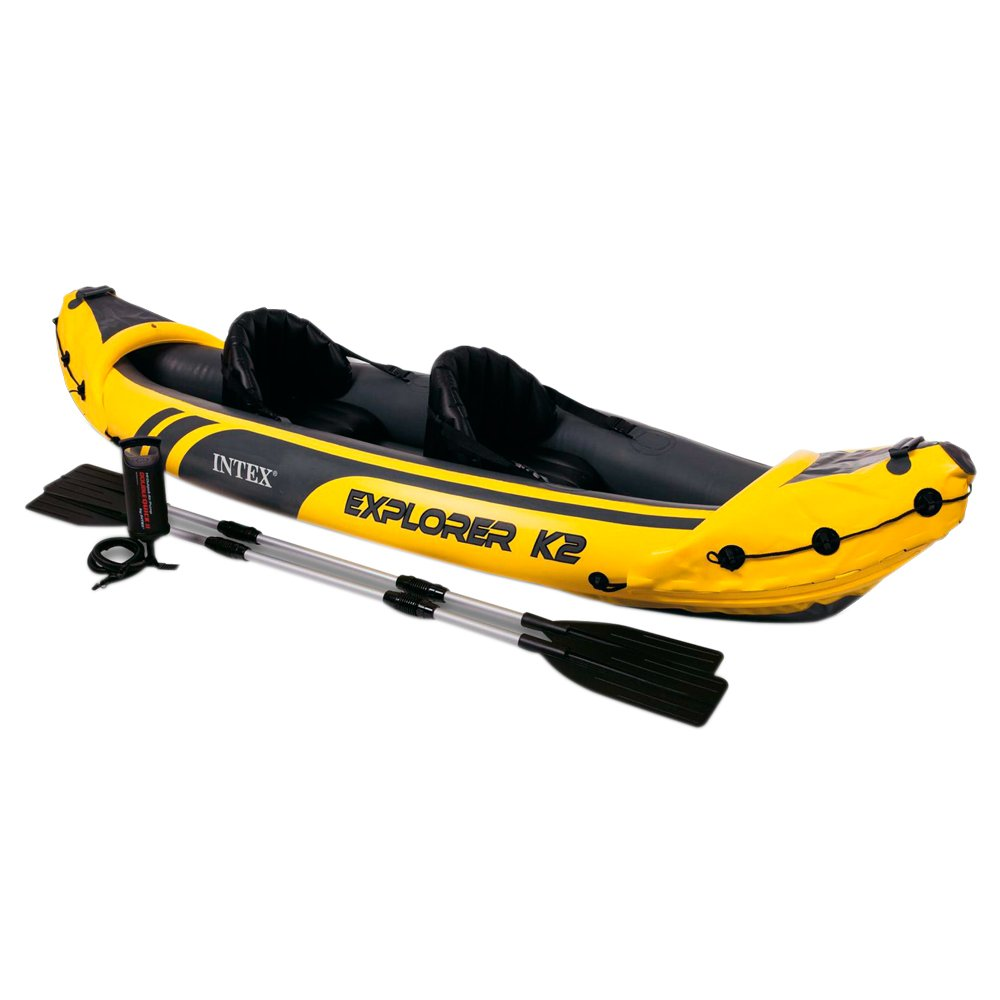 Intex Kayak hinchable Intex explorer k  remos xx cm NP
