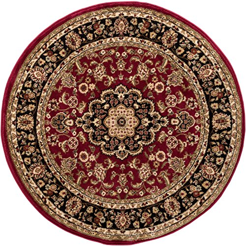 Well Woven Barclay Medallion Kashan Red Traditional Area Rug 5