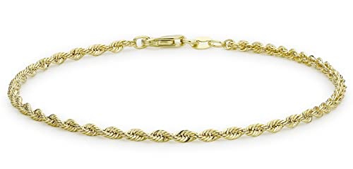 Carissima Gold Damen-Armband 9 Karat (375) Gelbgold 375 Gold 18cm/7inch 1.22.0781