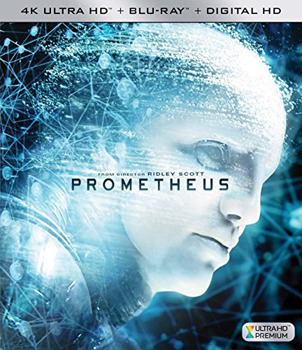 4K Blu-ray : Prometheus (With Blu-Ray, 4K Mastering, , Widescreen, Digital Theater System)