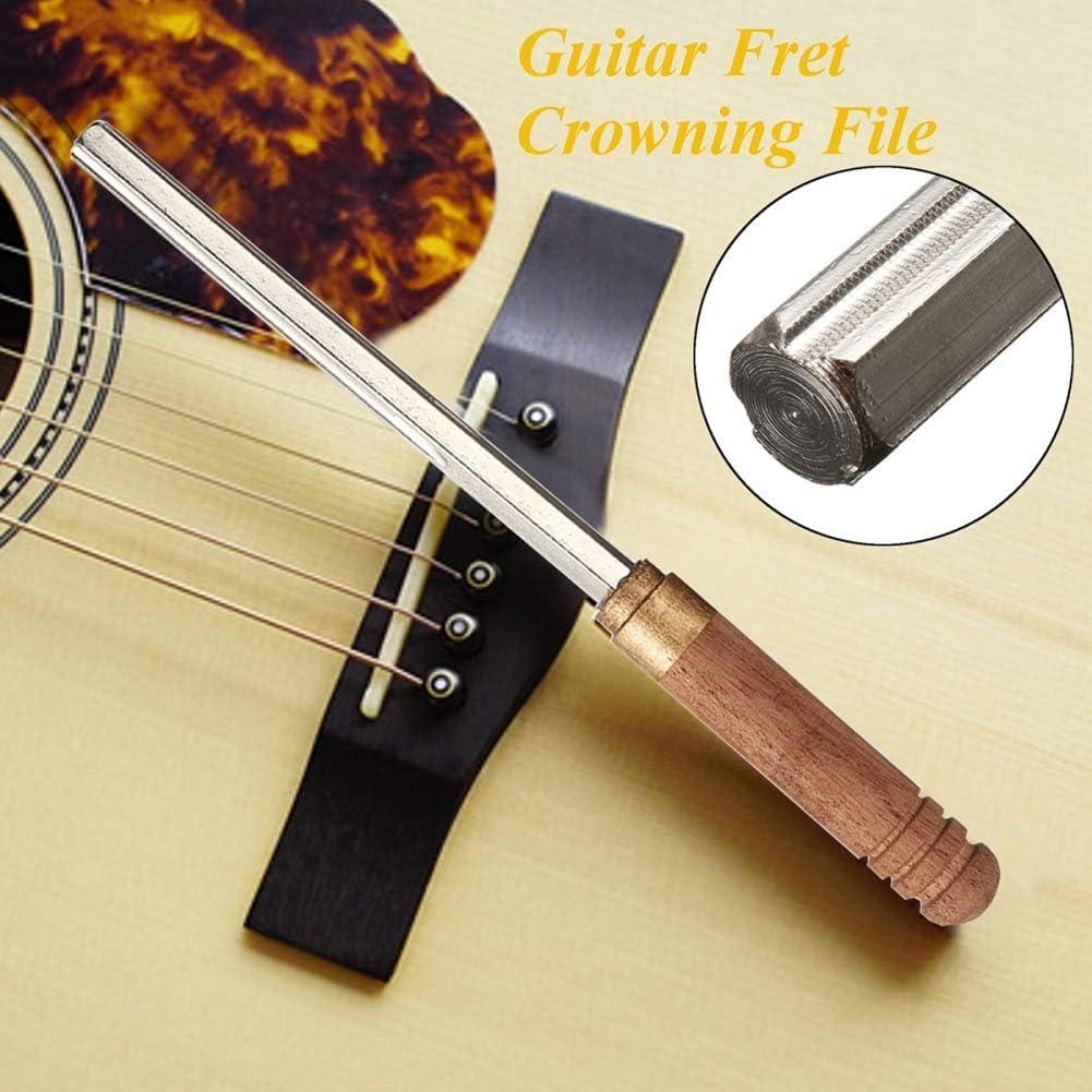 XuBa - Lima de trastes de Guitarra con 3 Bordes de Madera ...
