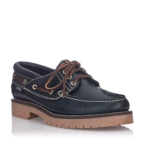69ef6450e Zapatos Snipe Náuticos Azul Marino  Amazon.es  Zapatos y complementos