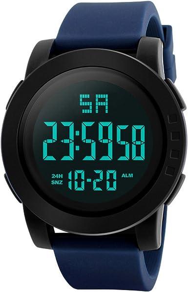 Unisex Electrónico Relojes de Pulsera, YpingLonk Impermeable al ...