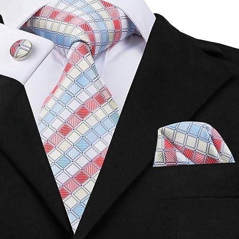 WOXHY Corbata de los Hombres Sn-1715 8.5Cm Corbata de Hombre ...