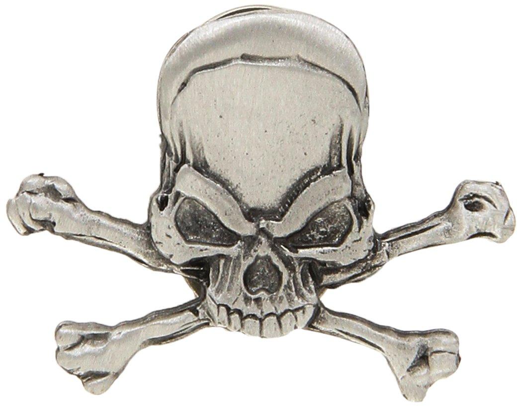 Hot Leathers Pirate Skull Pin PNA1155