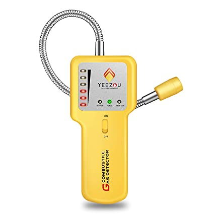 Combustible Natural Gas Leak Detector, Butane, LPG, LNG, Methane, Propane Gas Sniffer Alarm Tester Explosive Sensor - - Amazon.com