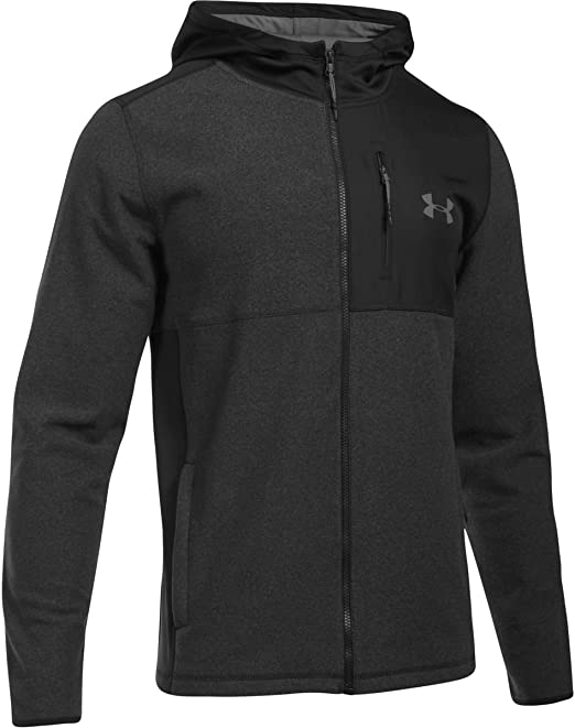 Black Under Armour ColdGear Fitted Mens Training Hoody
