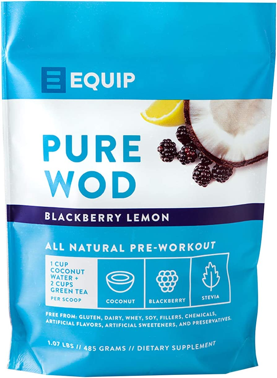 Pre Workout for Men or Women Best as Preworkout Supplement Powder. BCAA Amino Acids, Green Tea for Explosive Energy Work Out w Creatine, Caffeine, Coconut Water to Burn Fat. BlackBerry Lemon